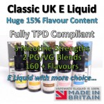 Double Espresso Flavoured UK E Liquid