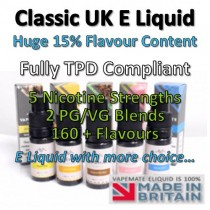 Dandelion and Burdock Flavoured UK E Liquid