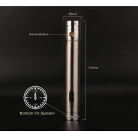 GreenSound eGo 2 Twist 2015 2200mah Variable Voltage Battery