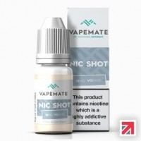 Nic Shot 18mg 10ml high quality pharmaceutical grade nicotine - Unflavoured