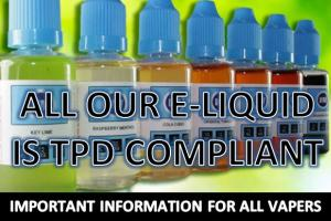 TPD UPDATE - IMPORTANT READING FOR ALL VAPERS