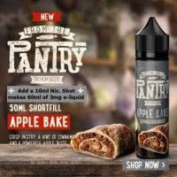 From The Pantry Apple Bake 50ml Shortfill UK E Liquid