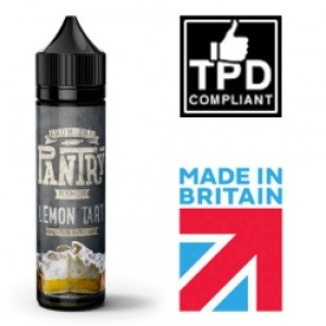 From The Pantry Lemon Tart 50ml Shortfill UK E Liquid