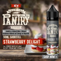 From The Pantry Strawberry Delight 50ml Shortfill UK E Liquid