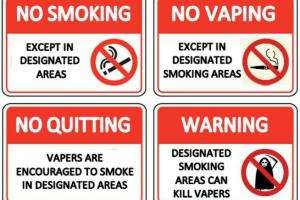 Organisations urged to differentiate after Councils force Vapers to use Smoking Areas