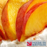 Peaches and Cream Flavoured UK E Liquid