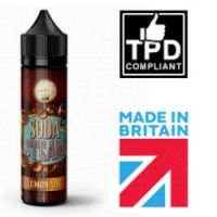 Soda Steam Lemonade 50ml Shortfill UK E Liquid