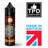Soda Steam Mountain Dew 50ml Shortfill UK E Liquid