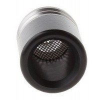 510 Drip Tip with Anti Spitback Screen - Stainless Steel/POM - fits most tanks