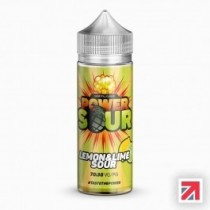 Power Sour Lemon and Lime 100ml Shortfill UK E Liquid