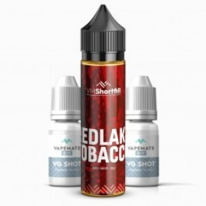 Redlake Tobacco 60ml Shortfill UK E Liquid