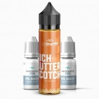 Rich Butterscotch 60ml Shortfill UK E Liquid