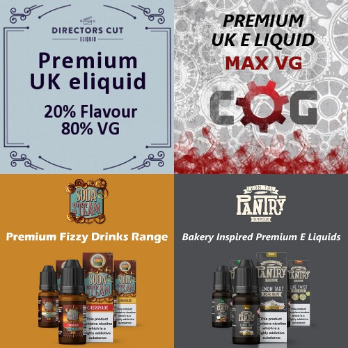 Vapemate Premium UK Eliquid - 10ml new flavours
